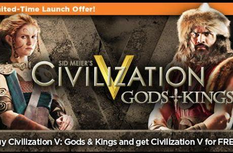 OnLive now streaming Civ 5, free with Gods and Kings purchase