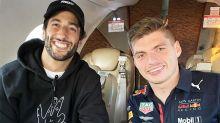 Daniel Ricciardo in awkward post-race run-in with Max Verstappen