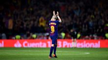 Watch Andres Iniesta's emotional farewell in his (likely) last cup final at Barcelona