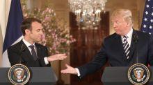 Nucléaire iranien: Emmanuel Macron a-t-il marqué des points face à Donald Trump?