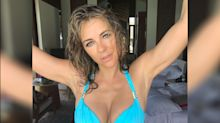 Elizabeth Hurley, 52, shares steamy bikini pics from beach vacation