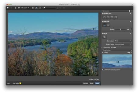 Mac App of the Week: DxO Perspective takes a crooked photo and makes it straight