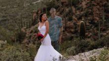 Una mujer comparte imágenes de lo que debería haber sido su reportaje de boda