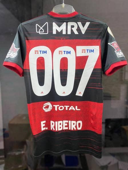 Flamengo: Éverton Ribeiro usará o número 007 contra o São ...