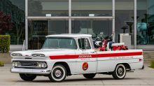 Honda a restauré un pick-up Chevrolet pour les 60 ans du japonais aux USA