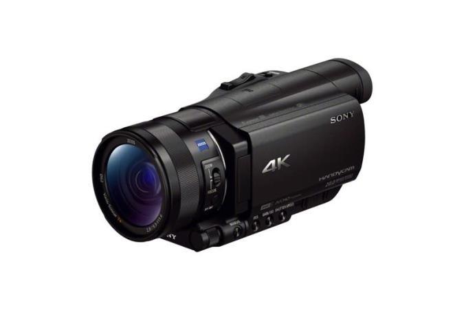 Sony presenta la HandyCam FDR-AX100: Su videocámara 4K compacta de 2.000 dólares