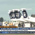 Alaska Airlines to start suspending travelers