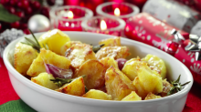 Roast potatoes are the UK's favourite part of Christmas dinner