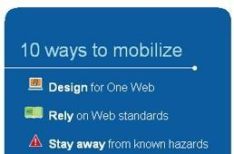 W3C finally publishes Mobile Web Best Practices 1.0