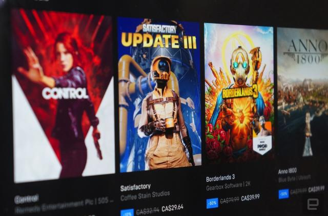 Epic Games Store's self-serve refunds get your money back without the wait