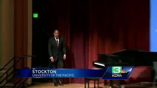 Jazz legend speaks at University of the Pacific