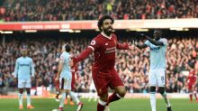 Salah takes Liverpool to second, West Brom cut adrift