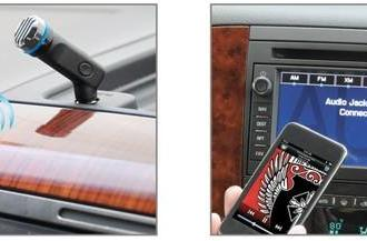 Scosche MotorMouth II brings handsfree calling to any aux input-equipped vehicle
