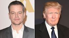 Matt Damon Claims Trump Required a Cameo Before Filming on His Property