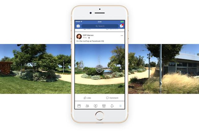 Facebook will use AI to help correct skewed 360-degree photos