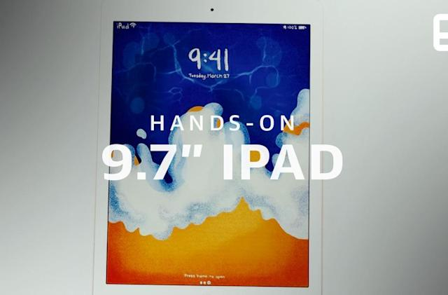Apple iPad hands-on (2018): It's all about the apps