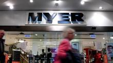 Myer shares plummet on new sales slide