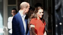 Duchess Of Cambridge Debuts New L.K. Bennett Dress For Royal Engagement