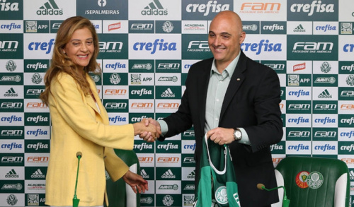 Palmeiras recebe bônus da Crefisa por vaga na Libertadores