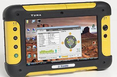 Trimble rolls out rugged Yuma UMPC