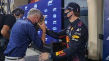 F1, Verstappen lancia torta in faccia a Coulthard