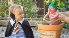 This adorable 'Harry Potter'-themed photo shoot is going viral