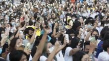 Unprecedented open criticism of king aired at Thai protest