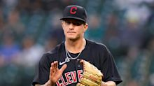 Wardrobe malfunction (he forgot his cleats) can't stop Cleveland Indians' Zach Plesac