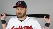Jason Kipnis watched the Indians game at the NCAA finals