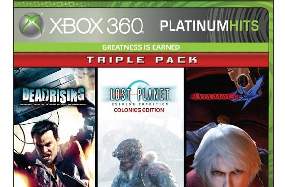 Capcom offers up $40 Platinum Hits Triple Pack for Xbox 360