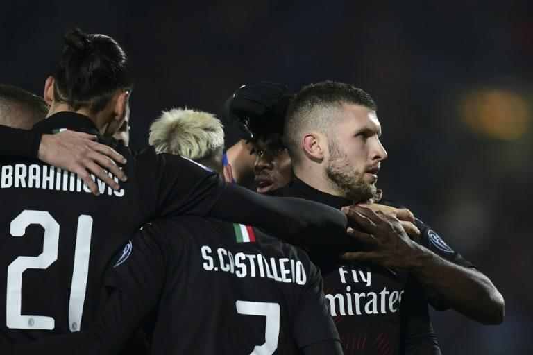 Rebic fires resurgent AC Milan into Europa League places