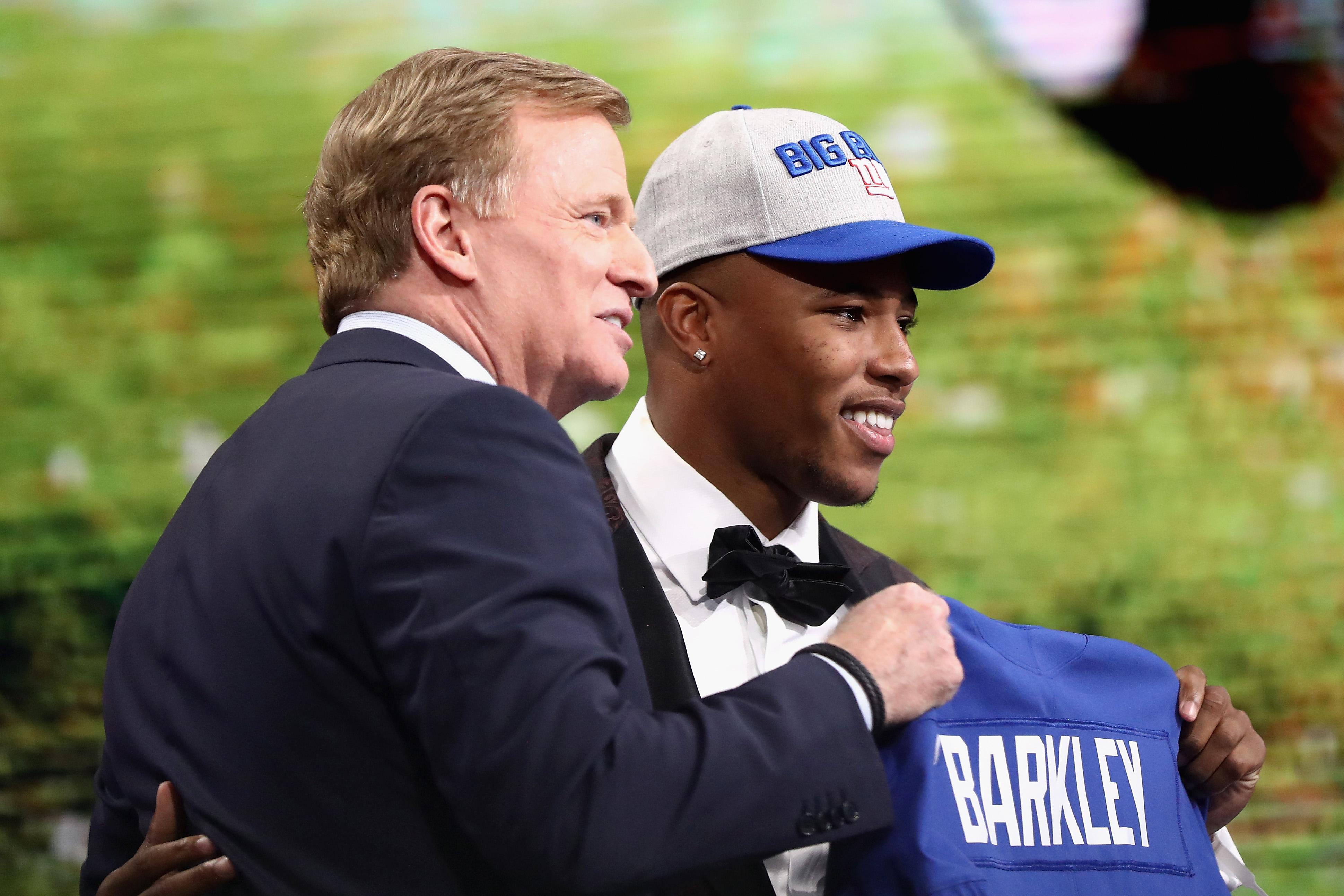 Saquon Barkley sets NFL draft jersey sales record after Giants pick ee42b958a