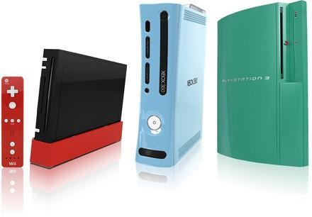 ColorWare spices up Wii, PS3, and Xbox 360 in custom colors