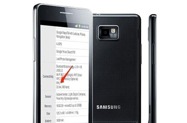 Samsung Galaxy S II first with MHL port for dual-purpose USB or HDMI out (video)