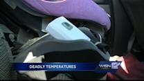 It doesn't take long for hot cars to become dangerous for kids