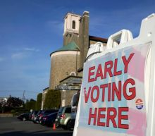 Two weeks from Election Day, how do early voting numbers across US compare to 2016?