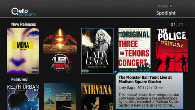 Roku devices can now stream Qello's concert library for $4.99 per month