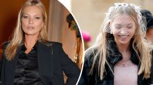 Kate Moss attends royal wedding with lookalike daughter Lila