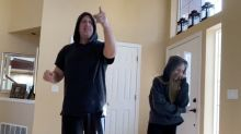 Vater-Tochter Tanzbattle: Mit Dad-Moves gegen die Quarantäne-Langeweile