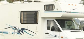 Mystery after body found inside campervan