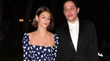 Kaia Gerber wears $380 dress on date night with Pete Davidson