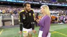 Alex Rance's incredible interview after devastating injury