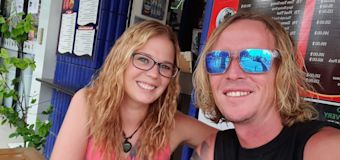 Stranded Aussie couple's bold plan to get home