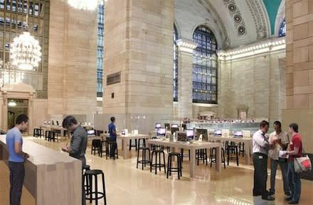 Grand Central Apple Store reportedly close to opening