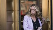 Is there a hidden meaning behind Stormy Daniels's key necklace?