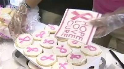 Honor Rows: Girls Group Raises Funds For Breast Cancer