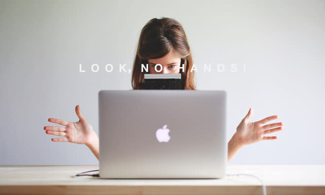 Designer uses her nose and an Apple Trackpad to create these incredible compositions