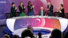 Thanks, David Dimbleby. Now maybe Question Time can get with the times