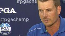 Henrik Stenson Interview after Round 4 of PGA Championship