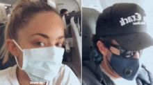 Kaitlynn Carter & Brody Jenner Fly Home Together from Indonesia — Where the Exes Wed 2 Years Ago